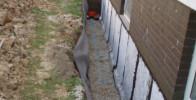 Außenwandabdichtung für trockene Kellerwände