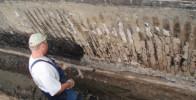 Außenarbeiten für die Sanierung für Kellerwände