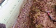 Drainage für einen trockenen Keller