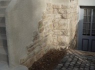 Mauerwerk mit Putz